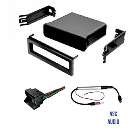 asc audio car stereo dash pocket kit wire harness and. Black Bedroom Furniture Sets. Home Design Ideas