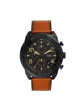 Fossil Men's Bronson Chronograph Luggage Leather Watch(Style: FS5714)