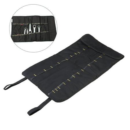 Multi Purpose 22 Pocket Reel Rolling Tool Bag Plier