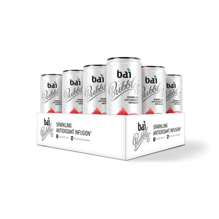 Bai Bubbles Antioxidant Infused Beverage, Lambari Watermelon Lime, 11.5 Fl Oz, 12 (Best Strawberry Watermelon E Juice)