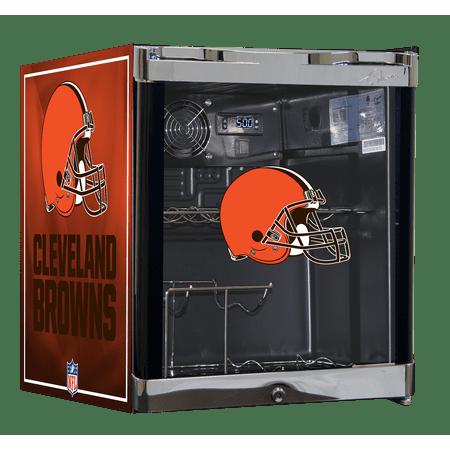 NFL Wine Cooler 1.8 cu ft- Cleveland Browns