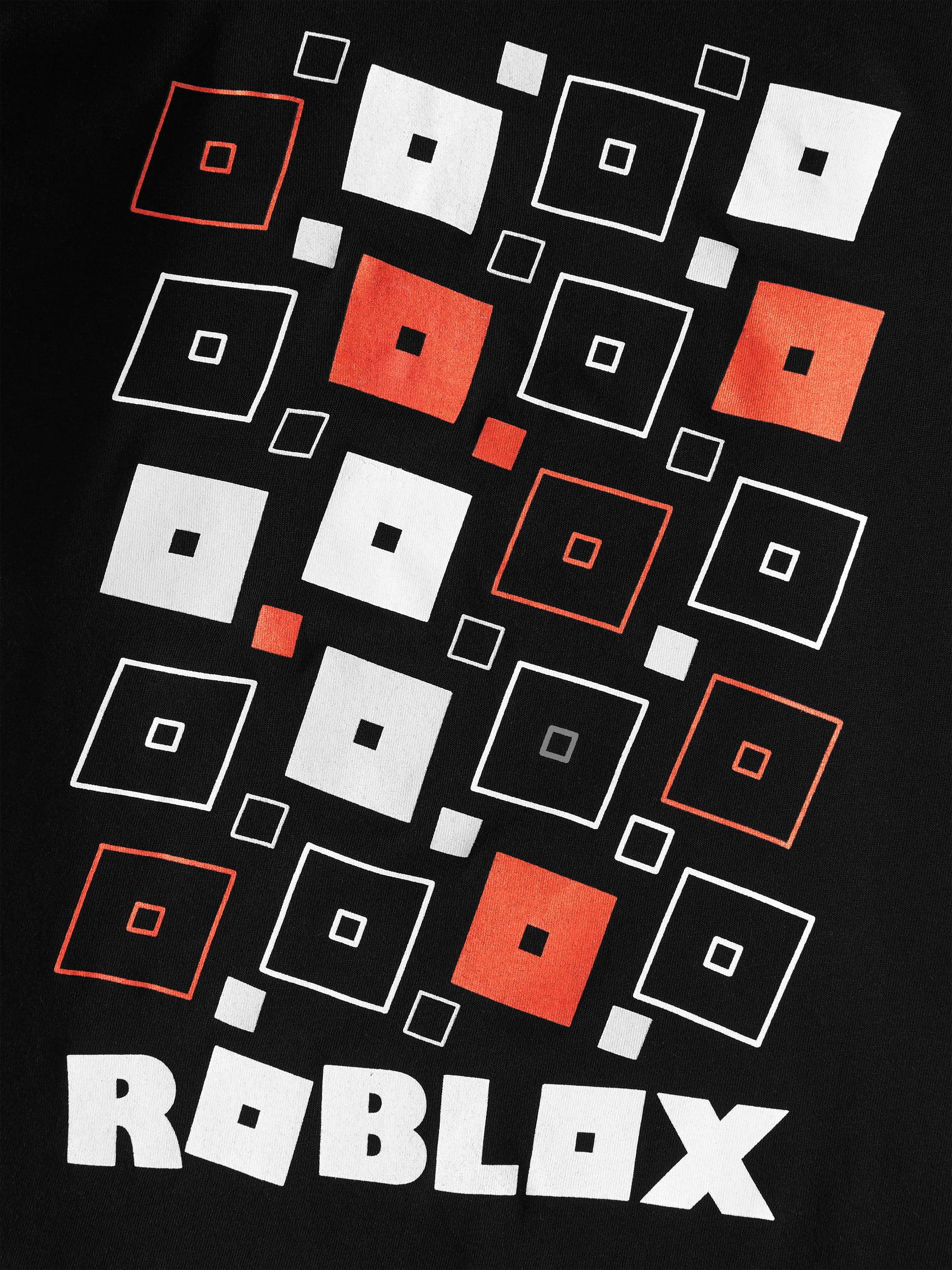 Roblox Roblox Black Logo Short Sleeve T Shirt Little Boys Big