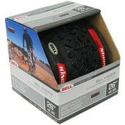 "Bell Sports Kingpin Mountain Bike Tire with Kevlar, 26"" x 2.25"", Black"