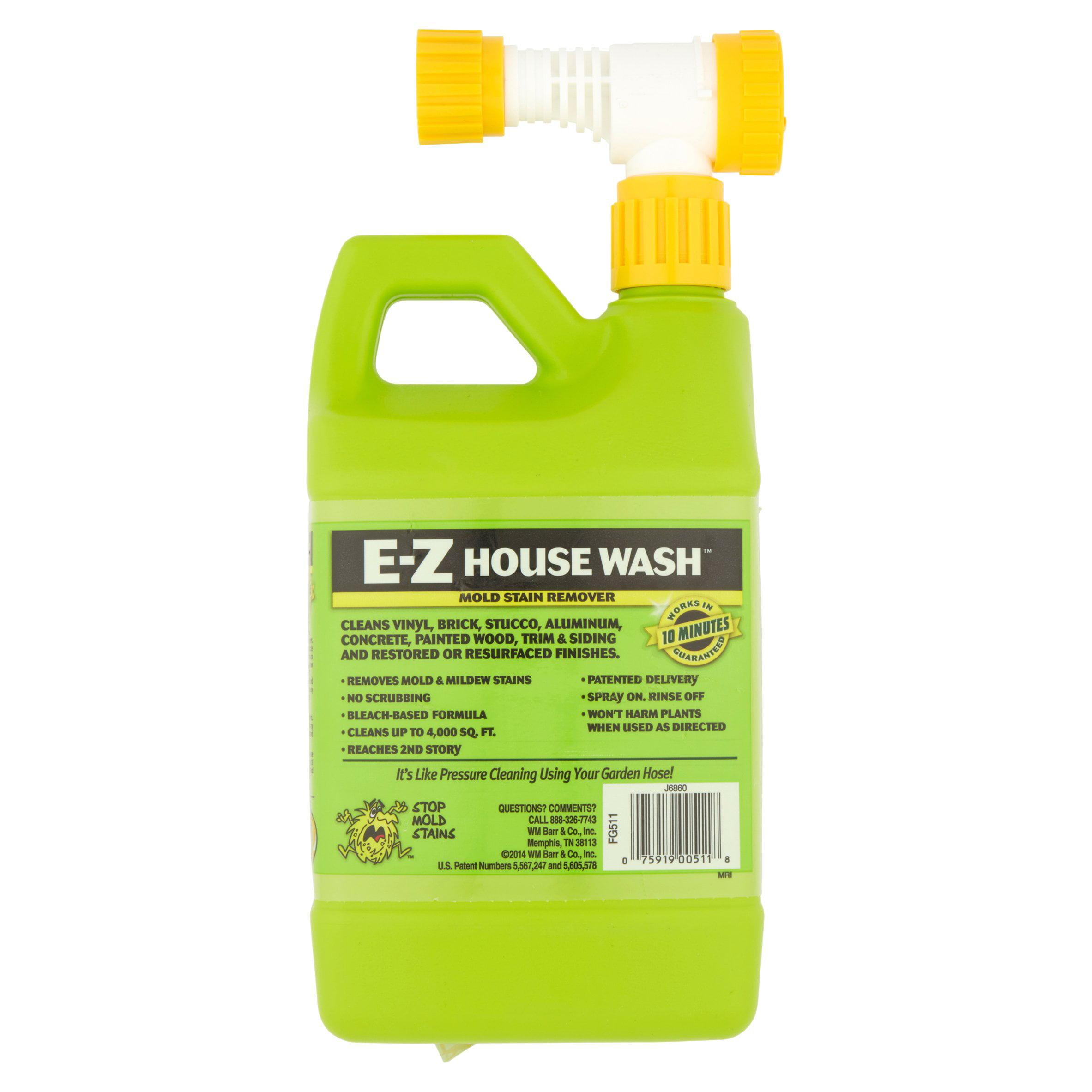 Home Armor E Z House Wash Mold Stain Remover 56 fl oz Walmart