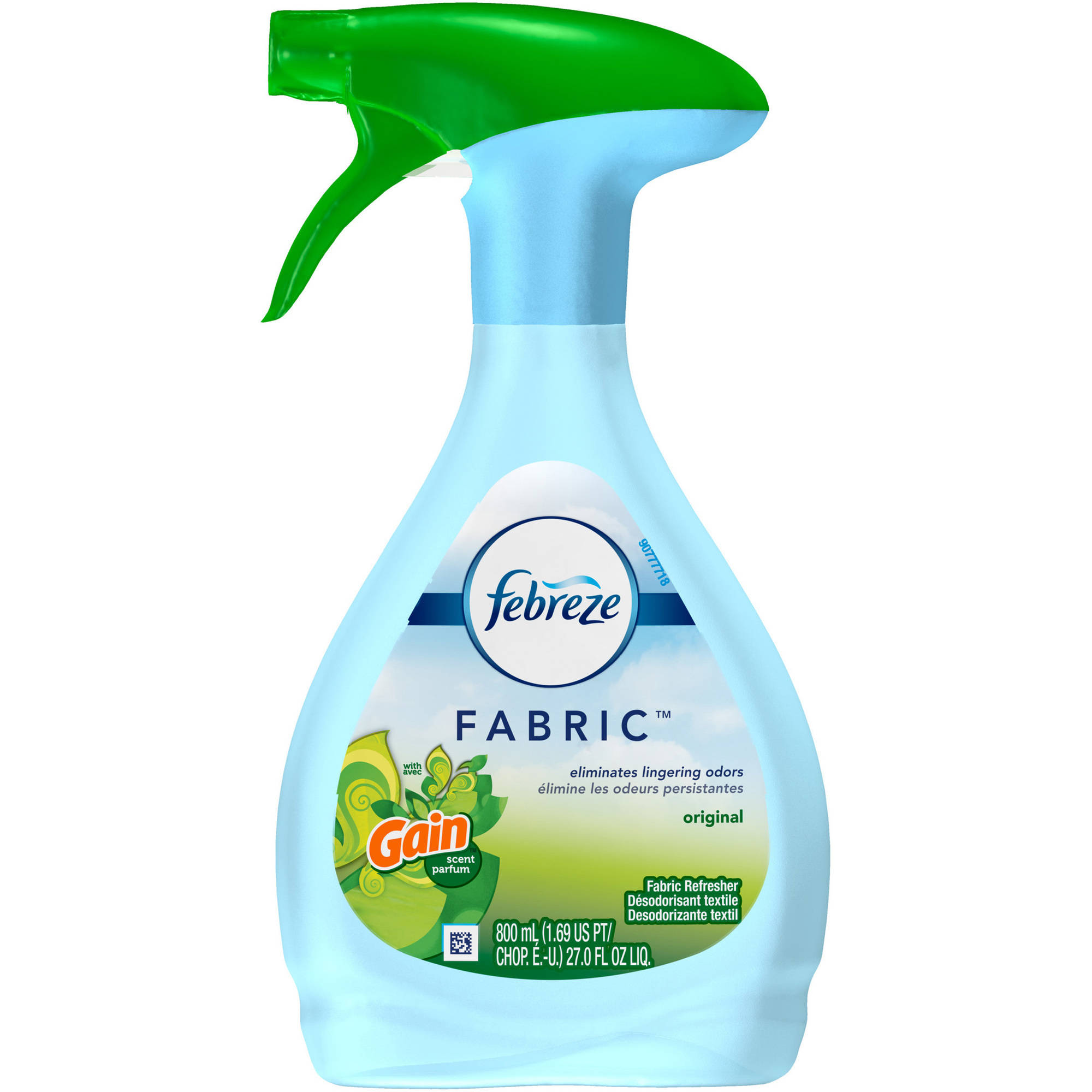Febreze Gain Original Fresh Scent Fabric Refresher, 27 oz