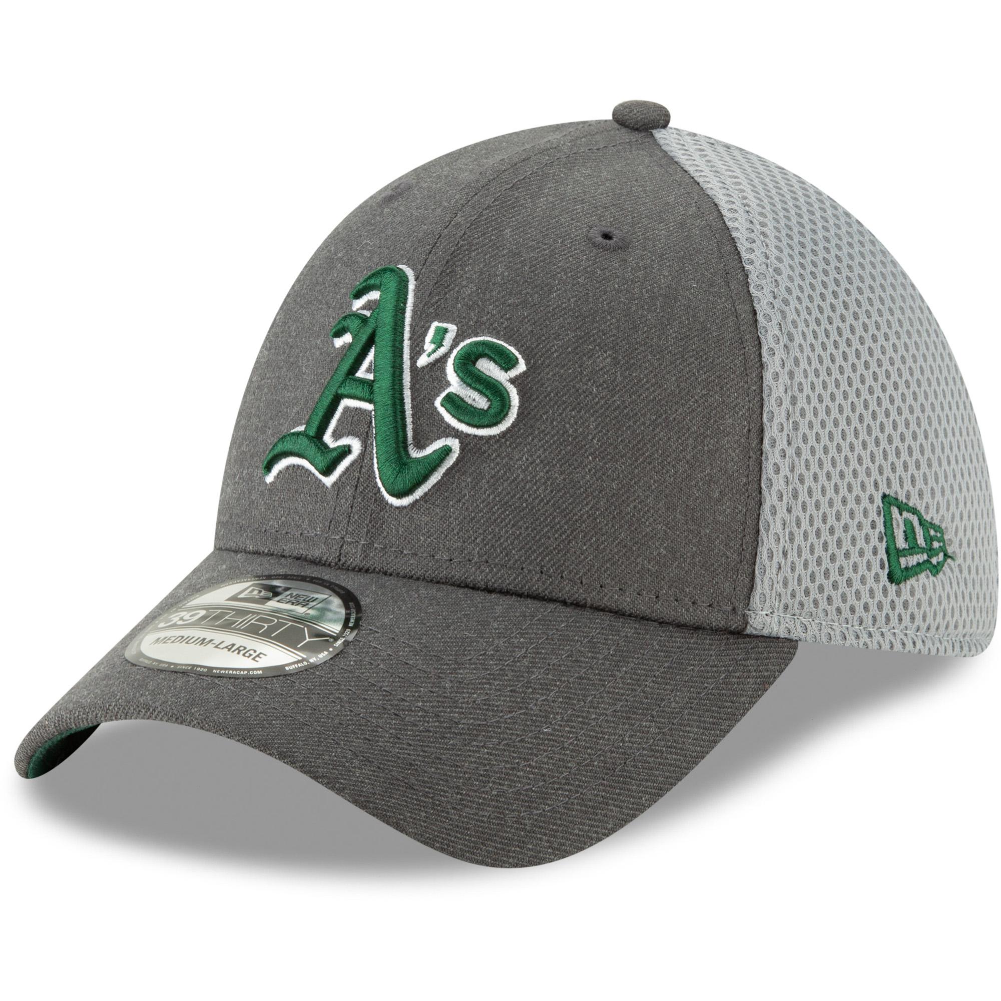 Oakland Athletics New Era Neo 39THIRTY Flex Hat - Graphite