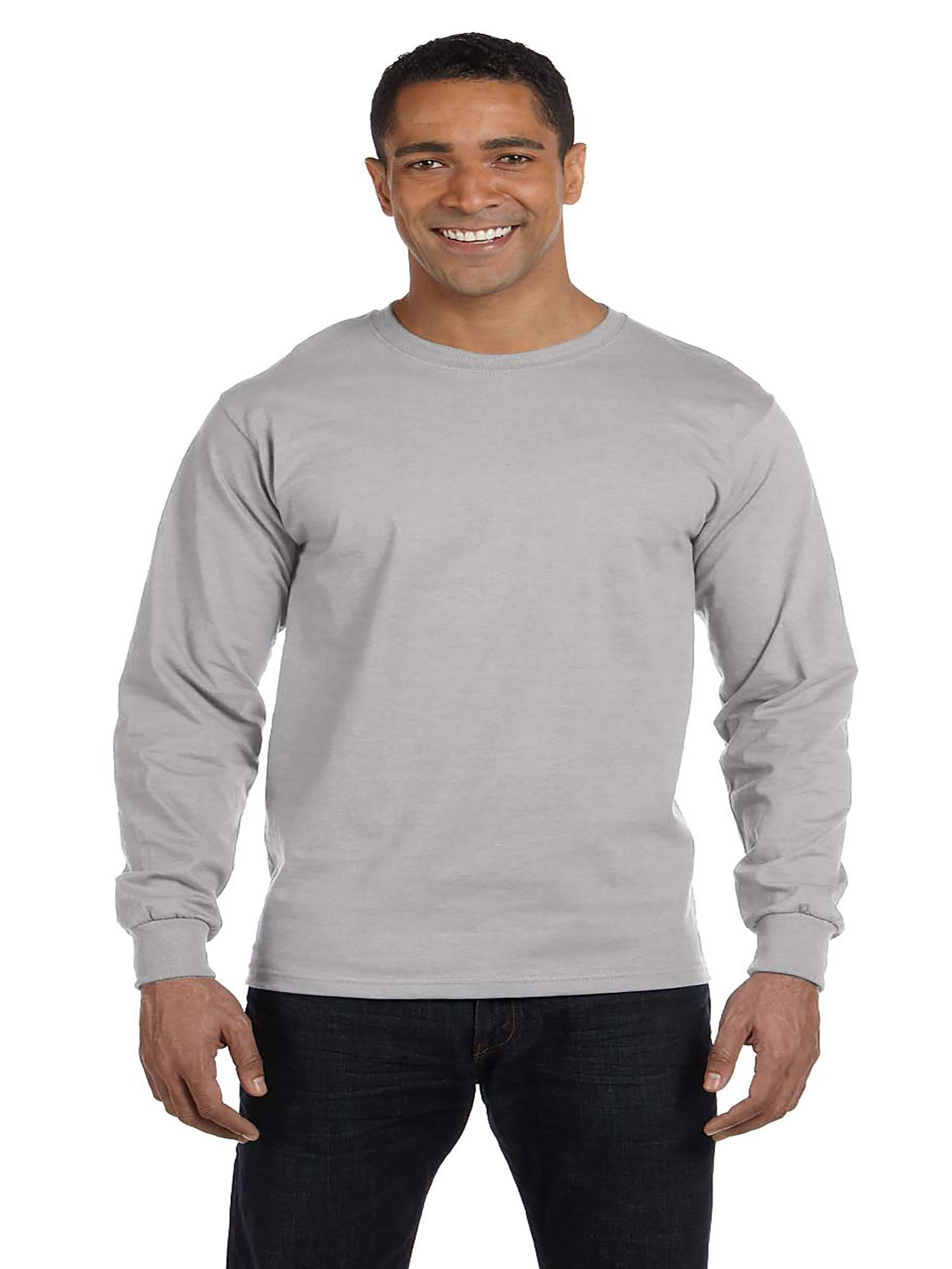 Hanes Mens Long Sleeve Comfort Soft T-Shirt