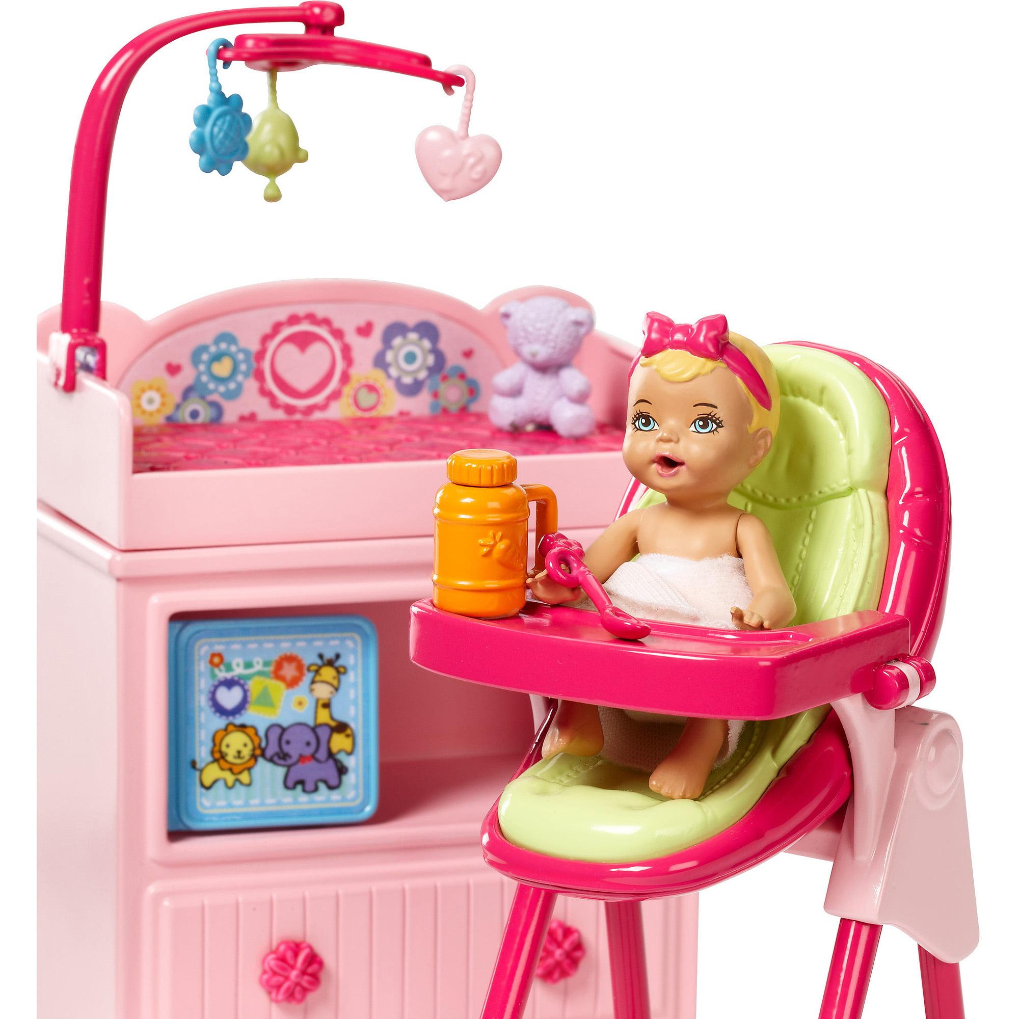 Barbie I Can Be Large Infant Caretaker Play Set Walmart Com