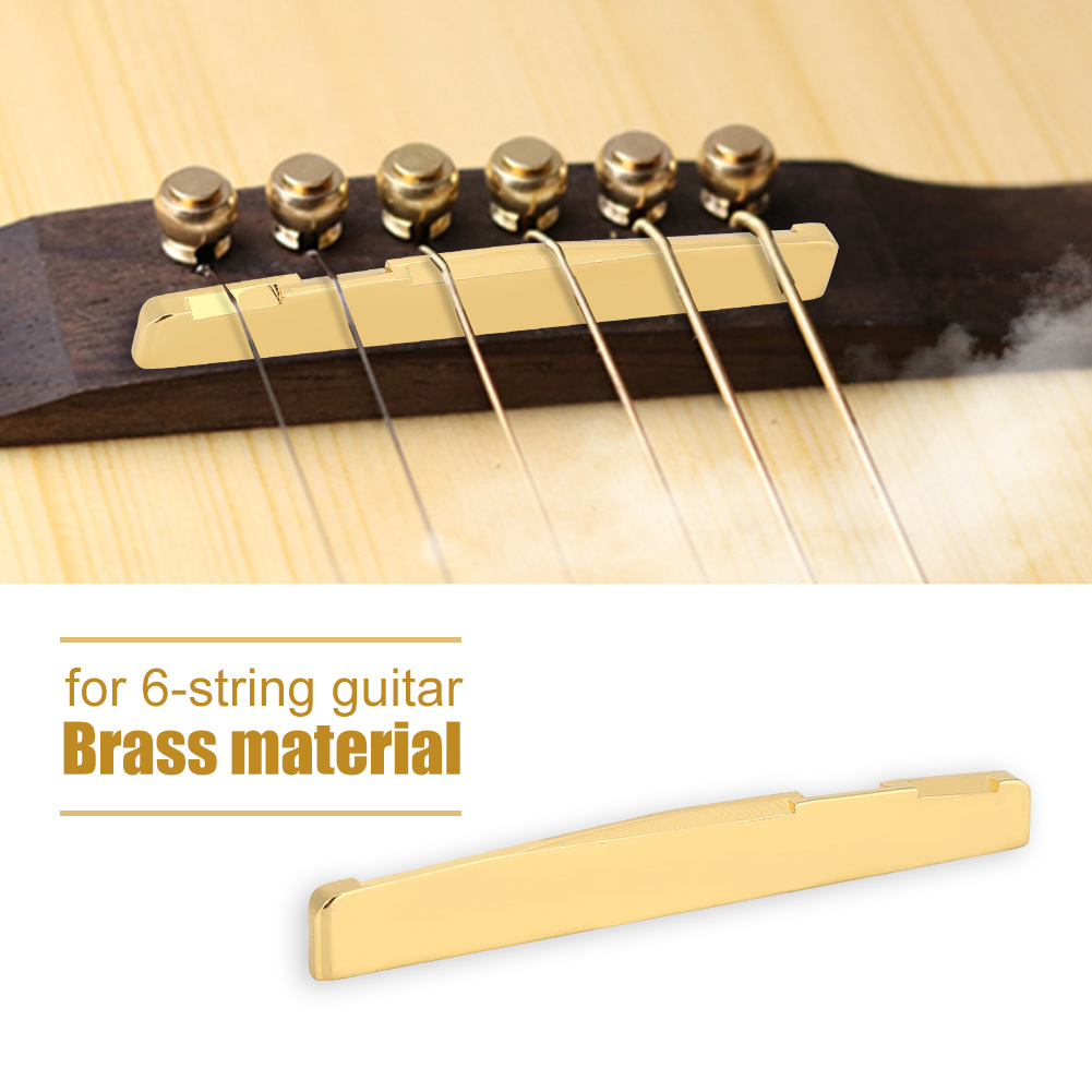 Good Quality Brass Saddle Replacement Part Accessory For 6 String