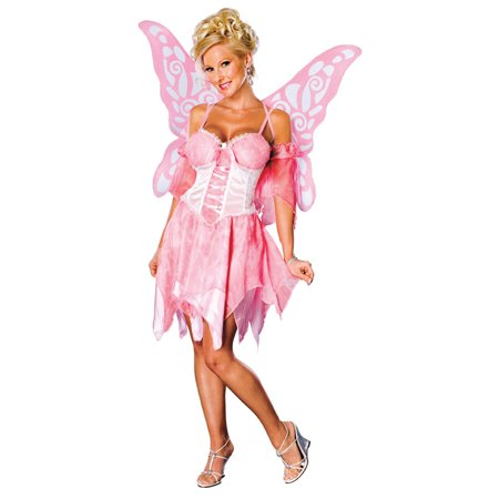 Adult Pink Fairy Costume Rubies 888458 (Adult Furry Costume)