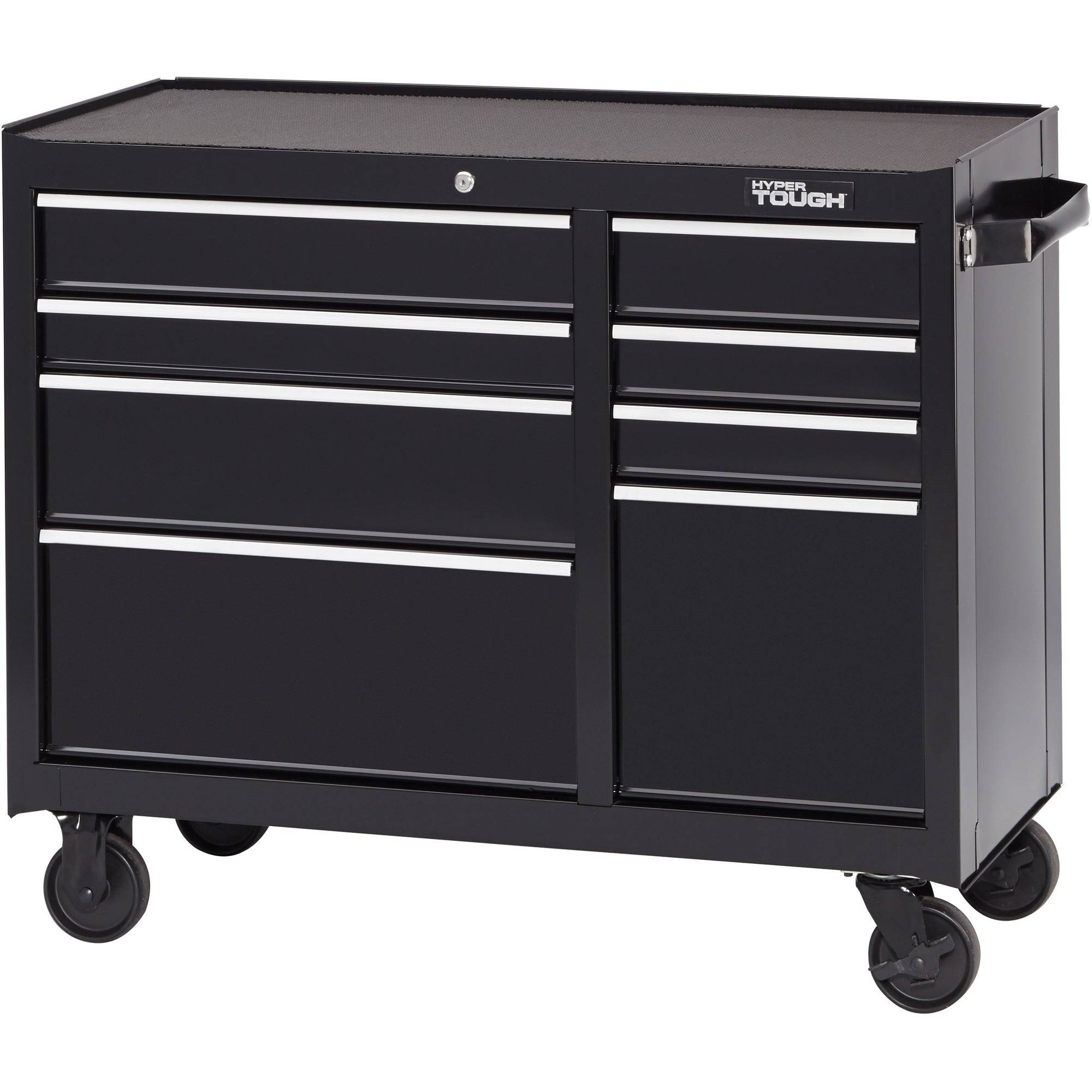 Hyper Tough 8 Drawer Rolling Tool Cabinet with Ball Bearing Slides ...