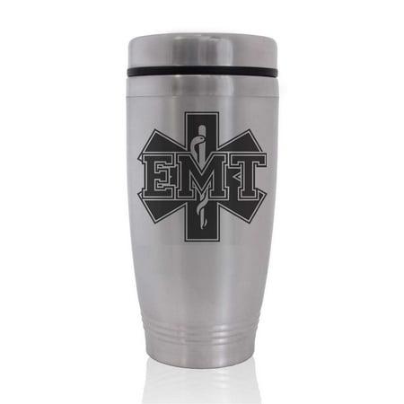 Commuter Travel Coffee Mug - EMT Emergency Medical