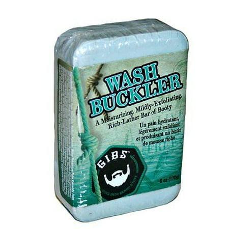 GIBS Grooming Wash Buckler Moisturizing Rich-Lather Bar 6 oz - Wash Buckler