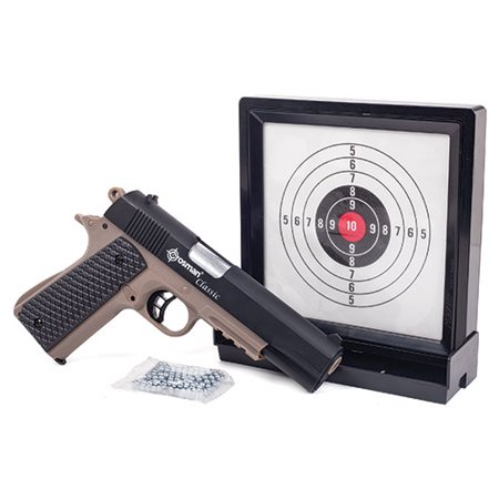 Crosman 1911 Spring Powered Pistol Kit with Sticky Target and