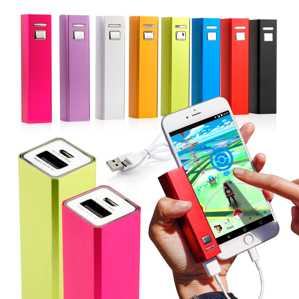 2600mAh Portable Mobile USB Power Bank External Battery Charger for Cell Phone backup