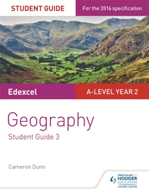 Edexcel A-level Year 2 Geography Student Guide 3: the Water Cycle and Water Insecurity; the Carbon Cycle and... by