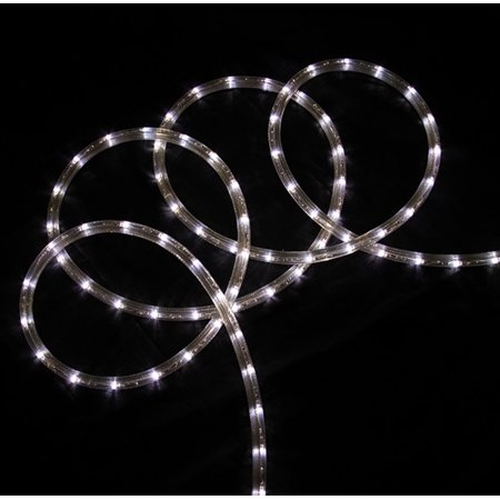 18 pure white led indooroutdoor christmas rope lights 2 bulb 18 pure white led indooroutdoor christmas rope lights 2 bulb spacing mozeypictures Images