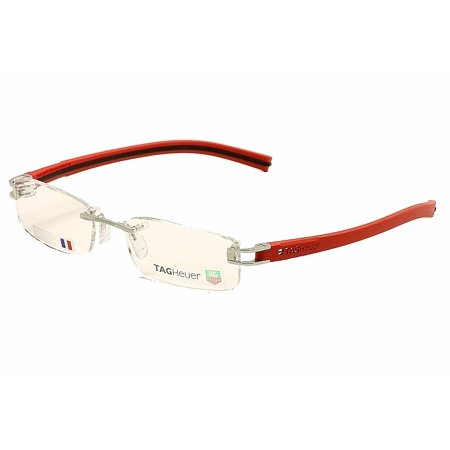 Tag Heuer Men\'s Eyeglasses TH7642 7642 005 Red/Black TagHeuer ...