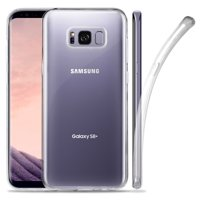 GALAXY S8+ CLEAR CASE, NEW TRANSPARENT FLEX GEL TPU SKIN CASE COVER FOR SAMSUNG GALAXY S8 PLUS PHONE (SM-G955), S8+