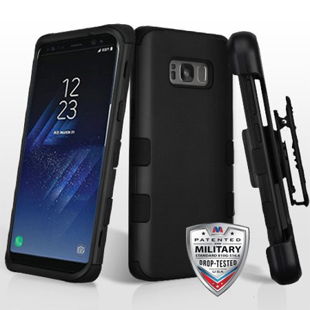 huge discount 110c3 0266a For Samsung Galaxy S8 Plus TUFF Hybrid Impact Armor Phone Protector Case  Cover