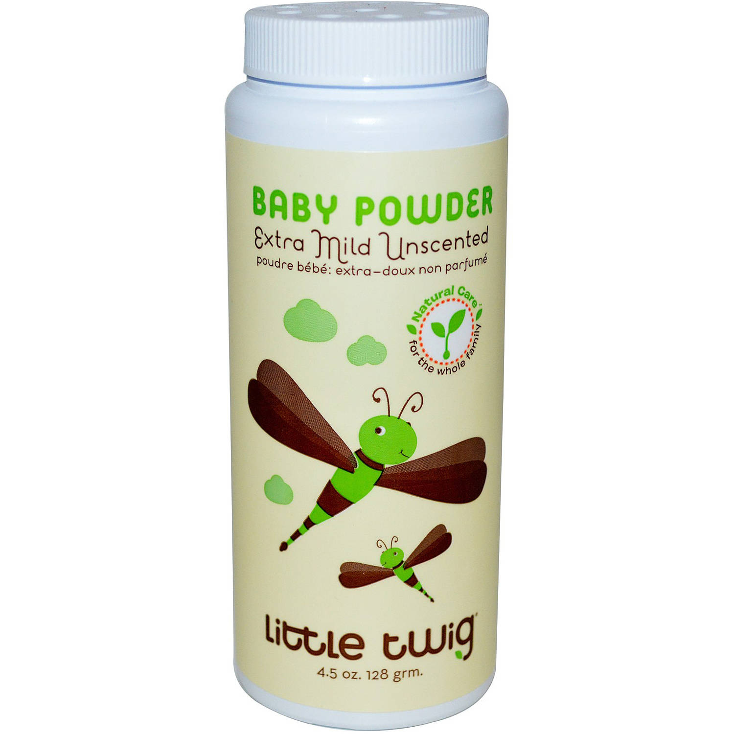 Little Twig Extra Mild Unscented Baby Powder, 4.5 oz by