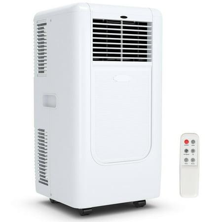 Costway Portable 10000BTU Air Conditioner Cooling Dehumidify Timer Remote w/ Window Kit