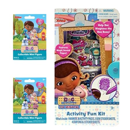 Doc McStuffins Activity Fun Kit and 2 Blind Bags - Doc Mcstuffins Costume Character