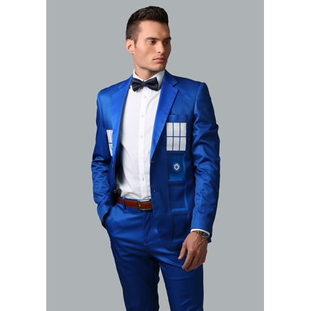 Tardis Jacket (Doctor Who Tardis Formal Suit)
