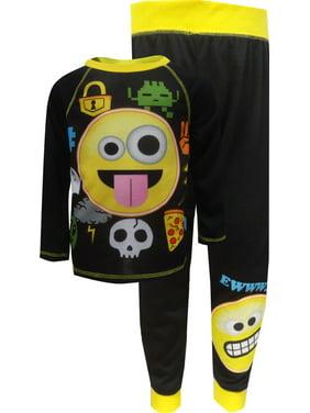 Emojination Big Boys' 2-Piece Pajamas (Sizes 8 - 20)