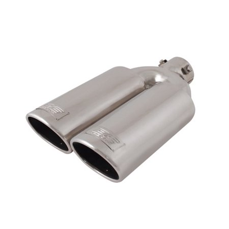 - Dodge Ram Exhaust Tip, Sport Bolt-on Stainless Steel Dual Truck Jeep Exhaust Tip (Sold by Case, Pack of 12)