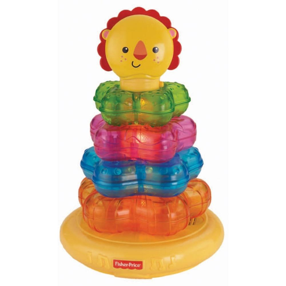 Fisher Price Light-Up Lion Stacker by Fisher-Price