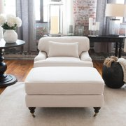 Saint Tropez 2-Piece Fabric Collection with Standard Chair and Ottoman