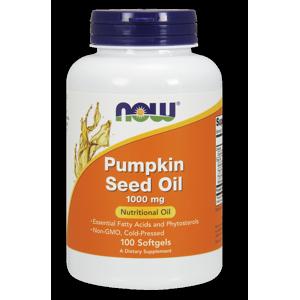Now Foods Pumpkin Oil Softgels, 1000 Mg, 100 Ct