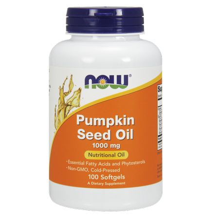 Now Foods Pumpkin Oil Softgels, 1000 Mg, 100 Ct