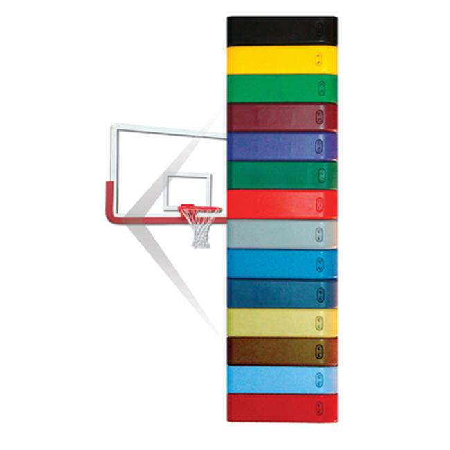 Gared Sports PMCERED Pro-Mold Backboard Padding  Cardinal
