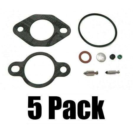 Bowl Seal Kit - (5) CARBURETOR KITS include Air Cleaner Fuel Bowl Screw Gasket Valve Seal Plug