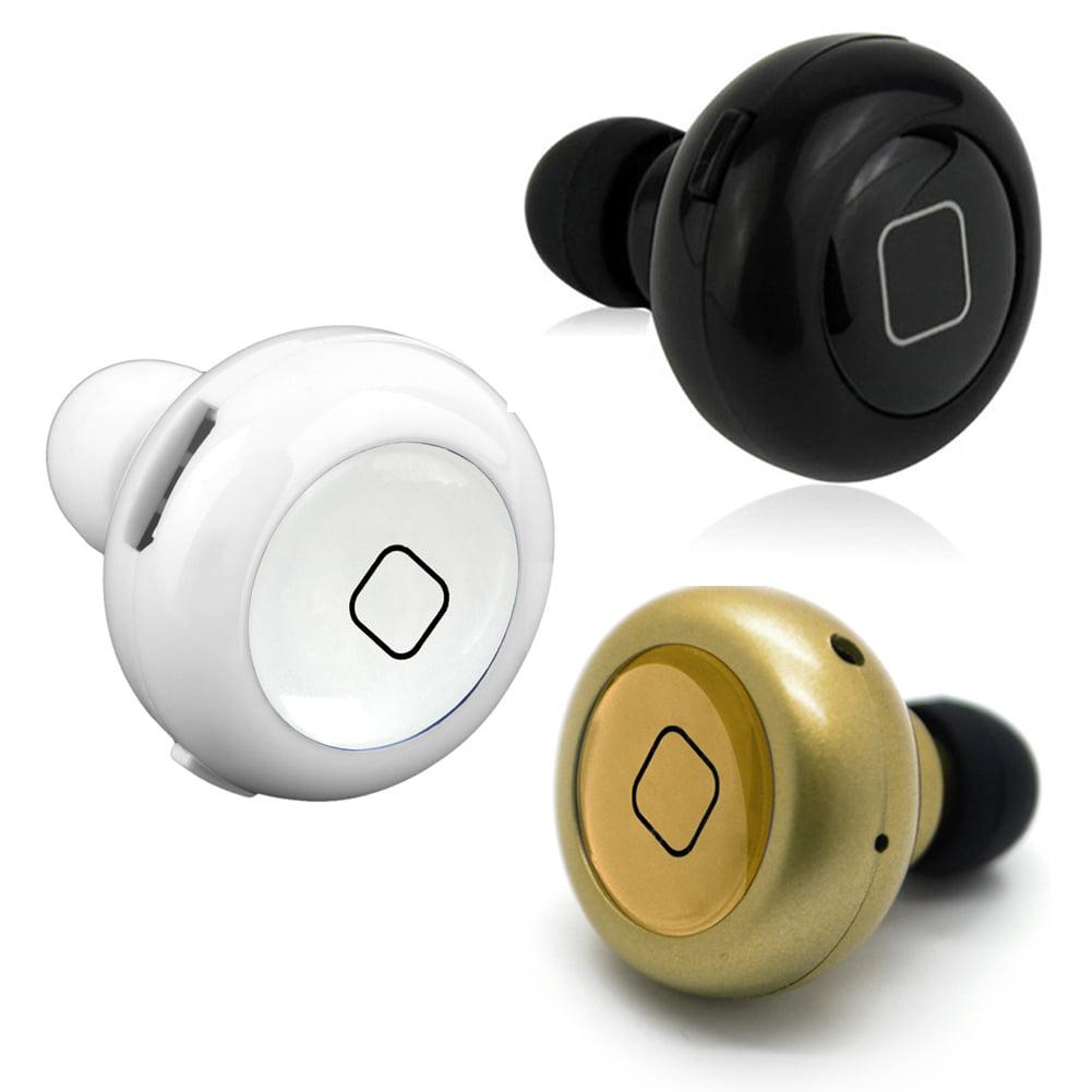 2016 New Mini Wireless Bluetooth 4.0 Stereo Headset In-ear Earphone Earpiece Earbud For Smartphones