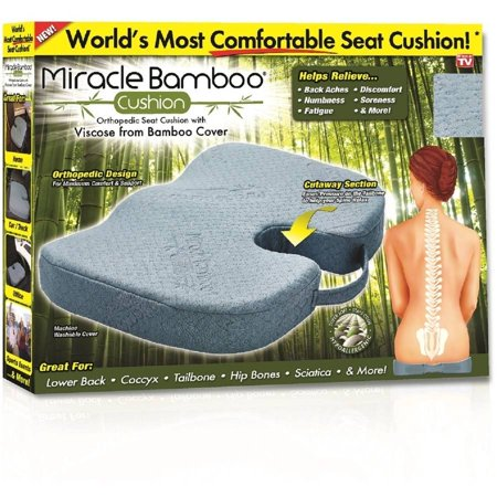 Miracle Bamboo Cushion Orthopedic Seat