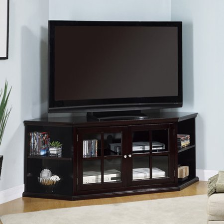 Espresso Finish TV Console for TVs up to 70″