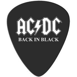 AC/DC Guitar Pick