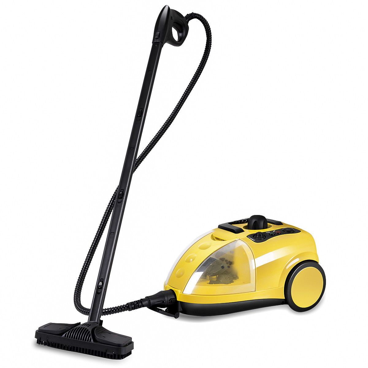 Costway 1500W Heavy Duty Steam Cleaner Mop Multi-Purpose Steam Cleaning 4.0Bar