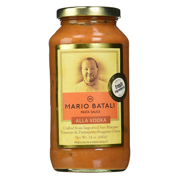 Mario Batali Vodka Pasta Sauce 24 oz Jars - Pack of 3