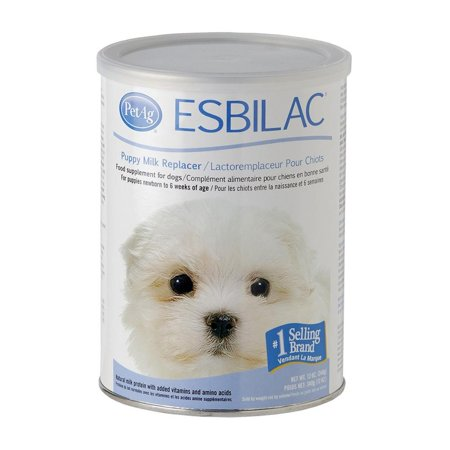 Canine Puppy Milk (PetAg Esbilac Milk Replacer For Puppies & Dogs, 12 Oz)