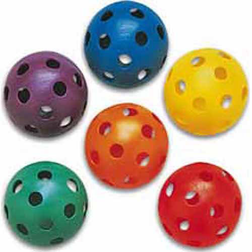 Color My Class Plastic Softballs Prism Pack of 6
