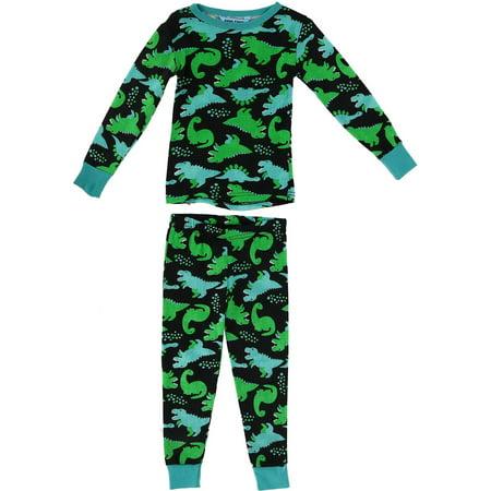 Children's Dinosaur Print Pajamas,  Multi](Adult Dinosaur Pajamas)