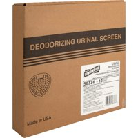 Genuine Joe, GJO58336, Deluxe Urinal Screen, 12 / Box, White