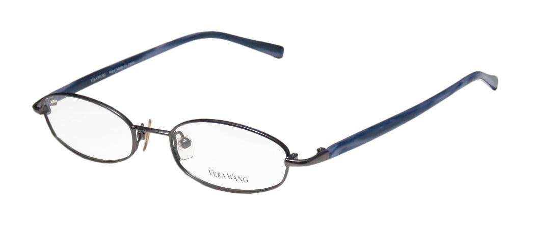 38c91e321c New Vera Wang V137 Womens Ladies Designer Full-Rim Silver   Red Horn Hand  Made In Japan Hip Durable Frame Demo Lenses 49-17-140 Eyeglasses Eye Glasses  ...
