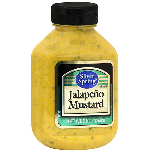 Silver Spring Jalapeno Mustard, 9.5 oz (Pack of 9)