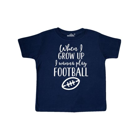 Future Football Player Boys Sports Toddler T-Shirt - Little Boy Football Player