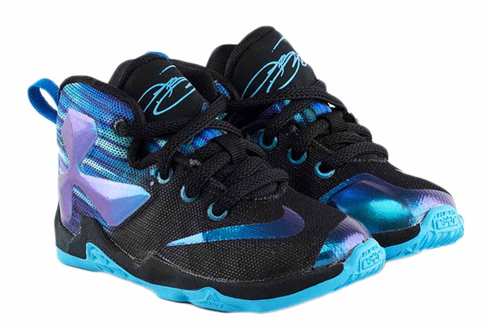 Nike Lebron XIII Toddler Boys Basketball Shoes Black by